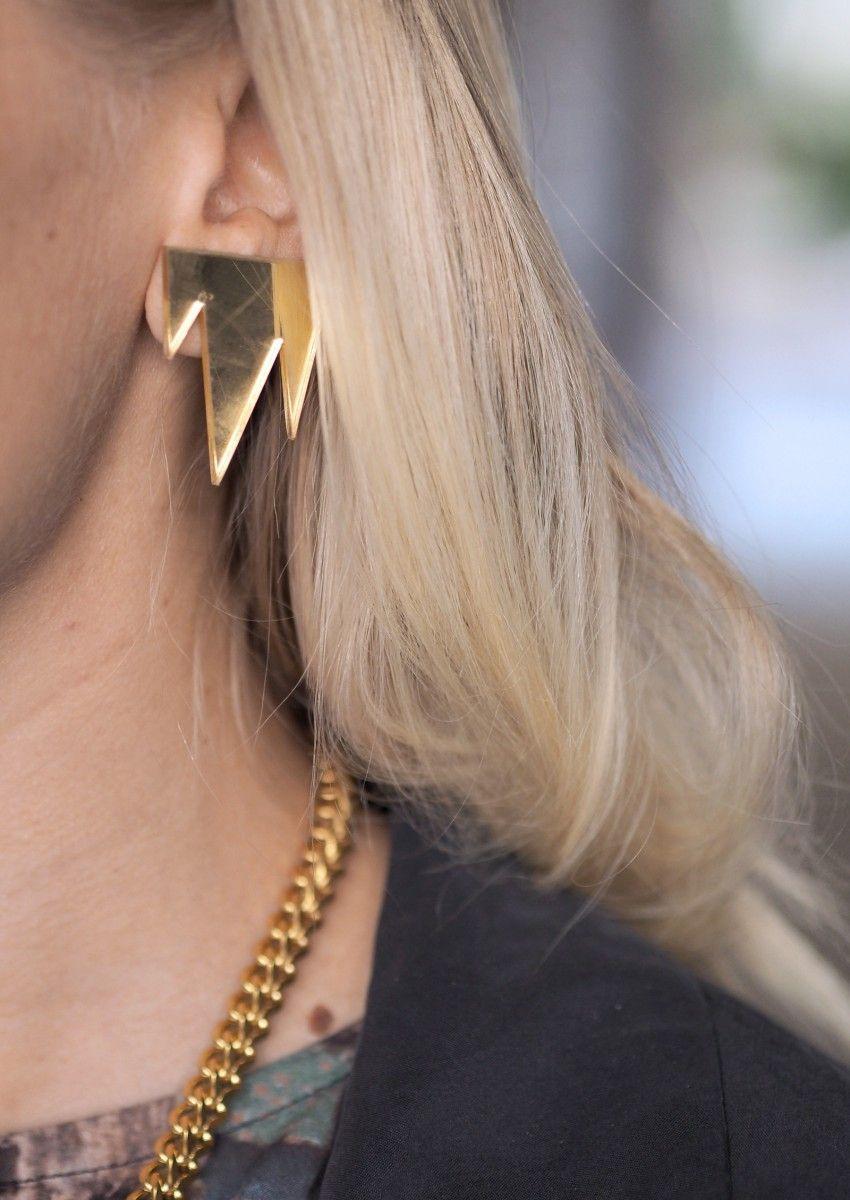 street style R/H earrings