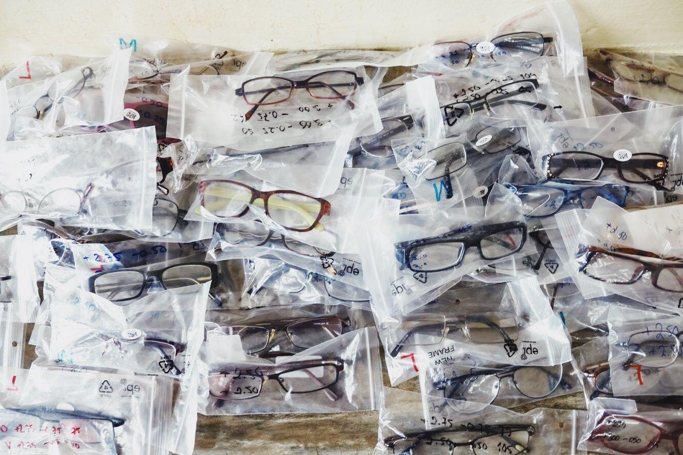 silmälasien kierrätys